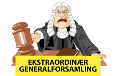 Ekstraordinær Generalforsamling !